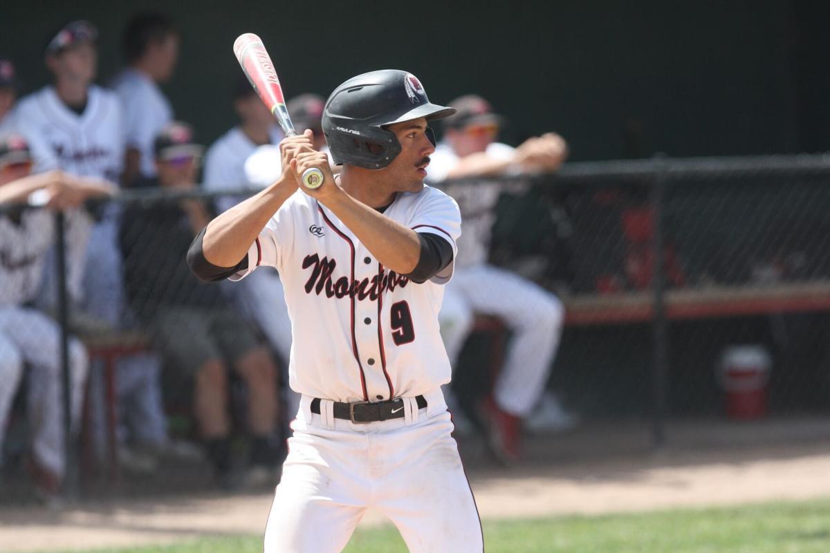 Montrose baseball Keagan Goodwin v Durango
