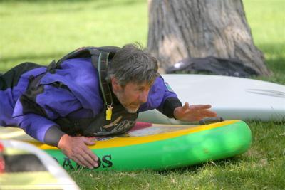 Montrose Kayak and Surf co-owner Bill Glasscock