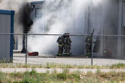 Storage unit fire