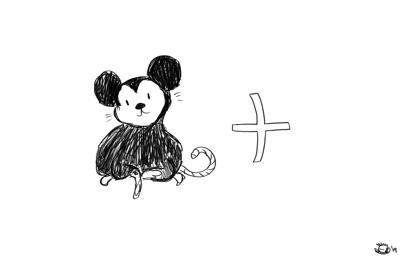 An illustration inspired by streaming platform Disney+