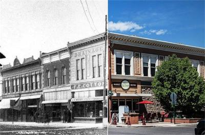 City marks The Vine building and Maggie's Books as historic properties