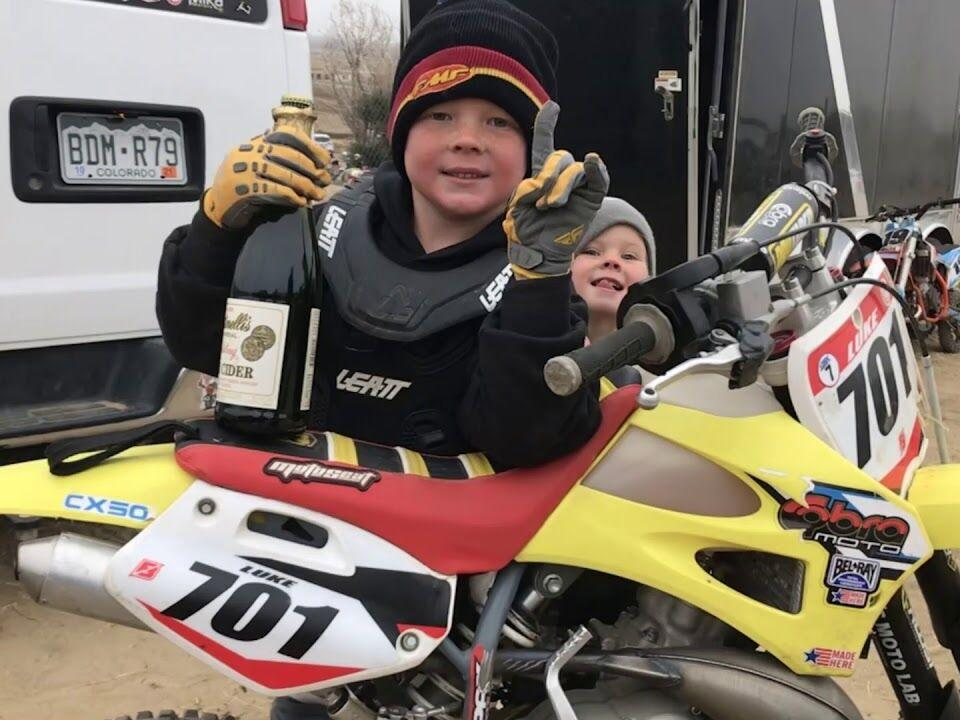 Noah Luke races to victory at RMRA Colorado series Class 1 - 50cc 4-6 Limited
