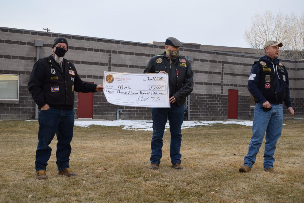 American Legion Riders Post 73 donate $3,750 to Montrose High School programs