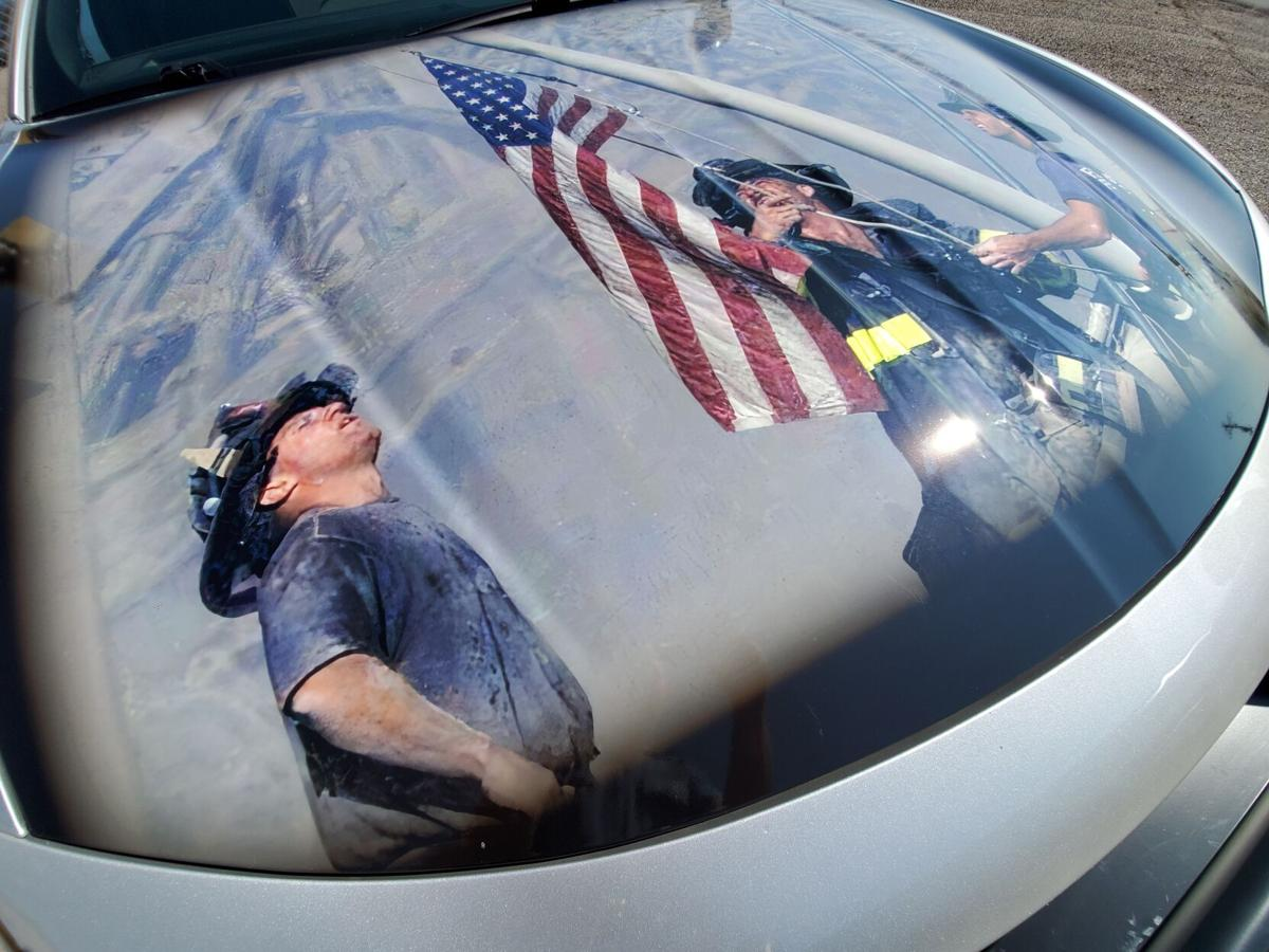 Wrapped in honor: State patrol unit commemorates 9/11