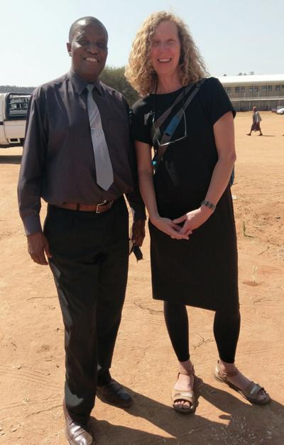 Kgosi Bana Sekai Linchwe, Deputy Chief of Bakgatla-ba-Kgafela and Amy