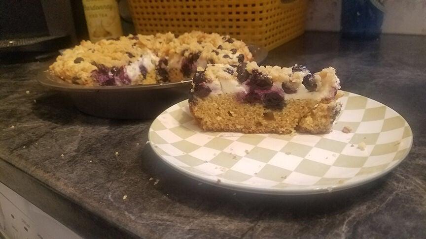 FOOD: Blueberry cheesecake coffee cake