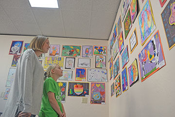 Montrose County School District student art