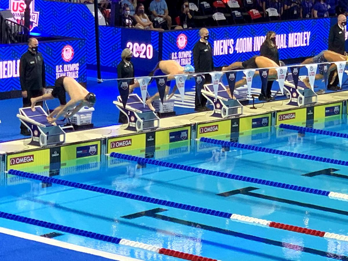 Ryan King at Olympic Trials in Omaha