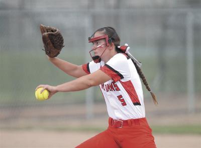 Montrose High School pitcher Kennadie Minerich