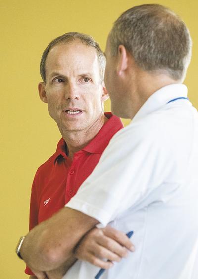 Montrose Marlins coach Silas Almgren