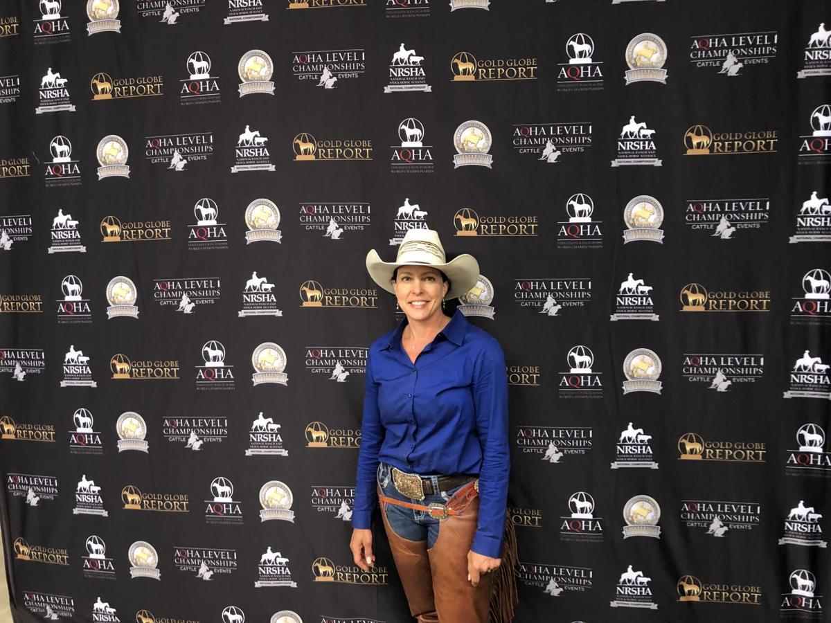 Shantel Tubbs at championships photo