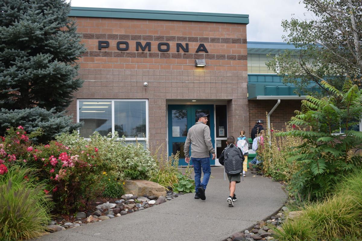 walking up to pomona