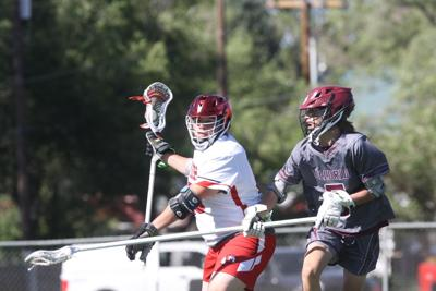 Montrose boys lacrosse Isaac Lovato v Telluride