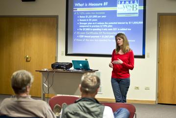 Proponents tout rec center plans in info meetings