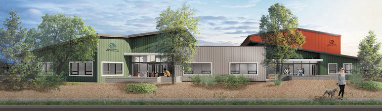 A conceptual drawing of Black Canyon Boys and Girls Club's