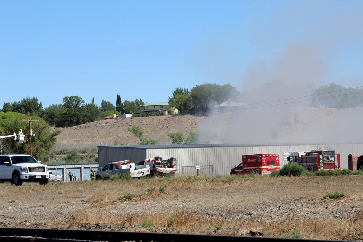 PHOTO GALLERY: Northside Storage fire