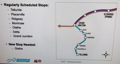 Bustang adds Delta, Montrose stops