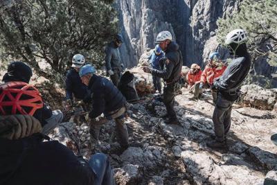 rescue black canyon climber