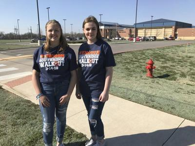 Southridge JH, Moore students 'walkout' in private