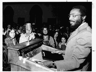 Dick Gregory at OU
