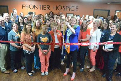 Frontier Hospice joins Moore business community with ribbon cutting