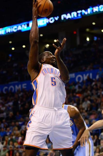 Thunder hosts Denver