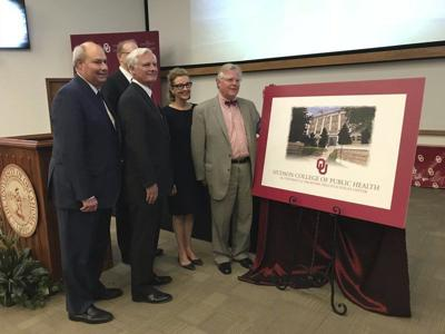 OU names college of public health in honor of Hudsons