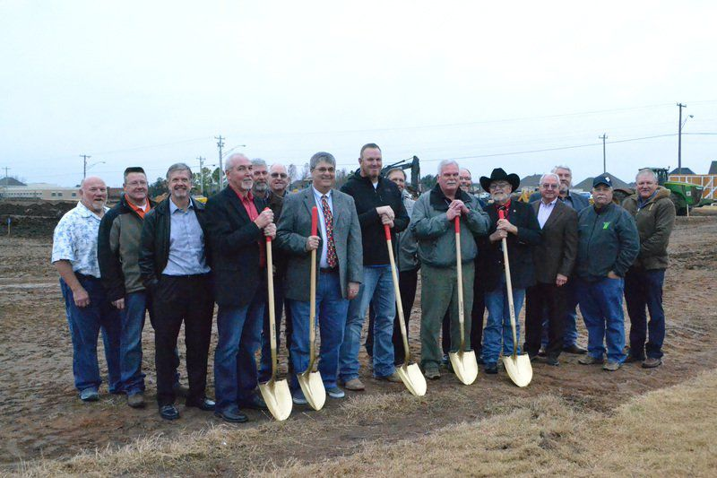 Western Farmers breaks ground in Moore