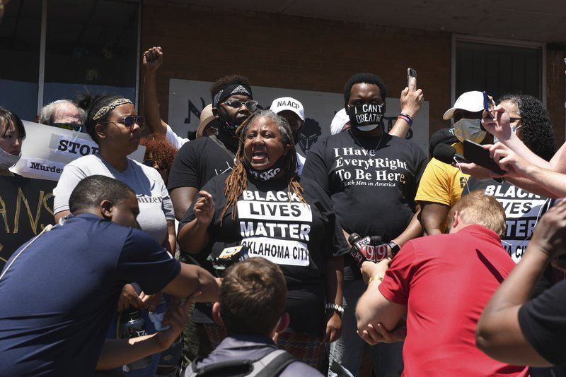 Second day of Oklahoma City protesting shares unified message