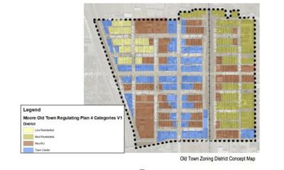 Moore councilapproves adoption of Old Town plan