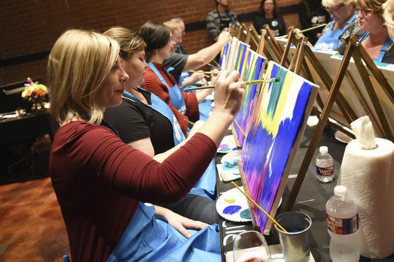 Pinot's brings painting and wine to Main Street Norman