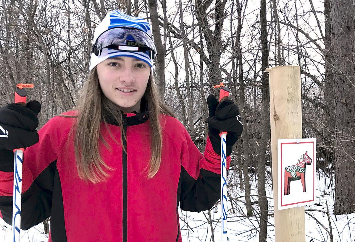 Eagle Scout creates ski trail signage