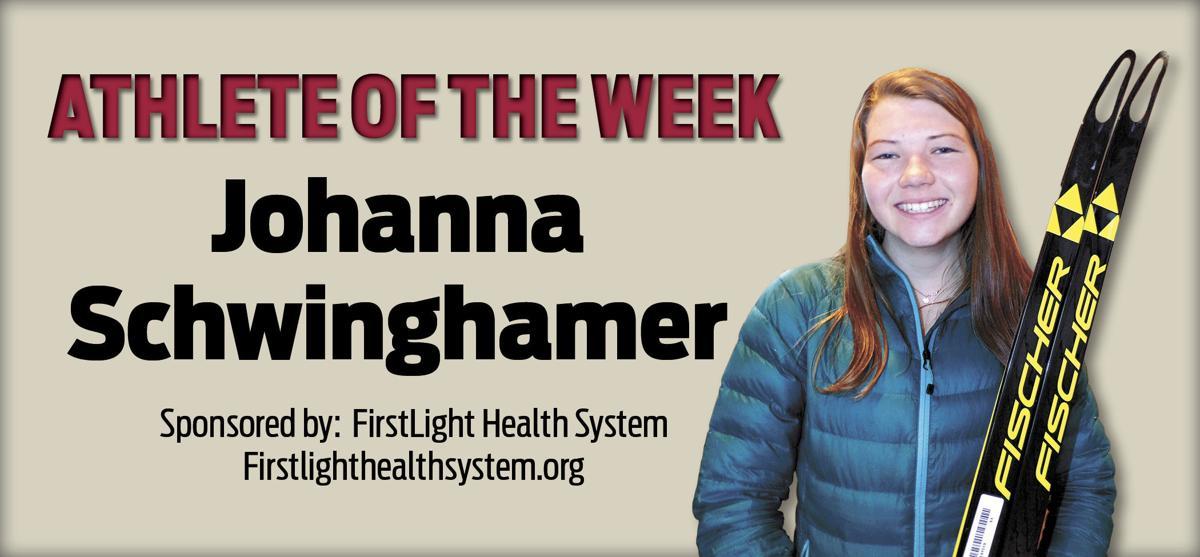 ATHLETE OF THE WEEK: Johanna Schwinghamer