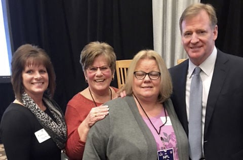 Local nonprofit attends NFL luncheon