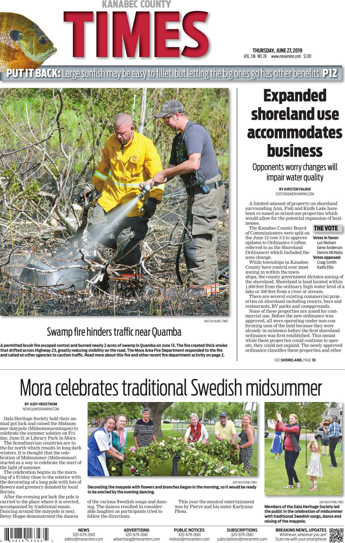 Kanabec County Times E-edition June 27, 2019
