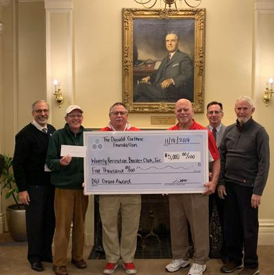 Guthrie donates to Waverly Glen Park project