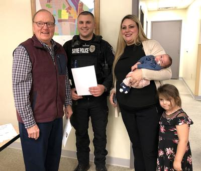 Sayre PD promotes officer to full-time