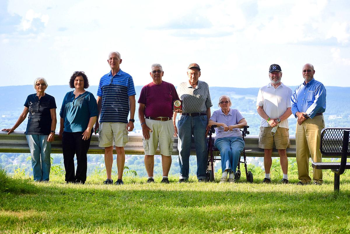 Charter member of Athens Township Parks Commission honored