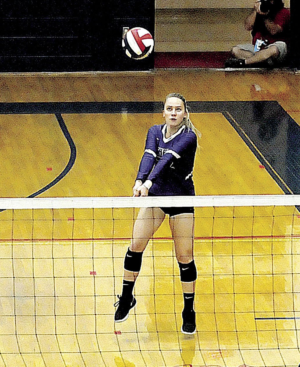 Athens volleyball players get All-League nods