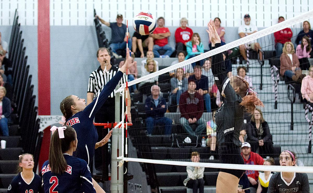 Sayre volleyball