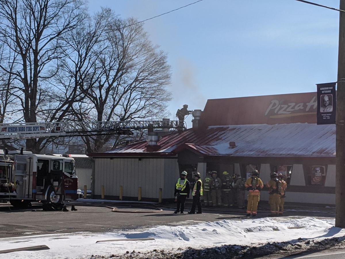 Pizza Hut damaged in morning fire