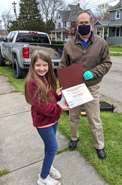 Local girl wins Knights of Columbus statewide poster contest