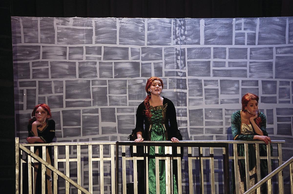 Sayre drama prepares for Shrek! performances