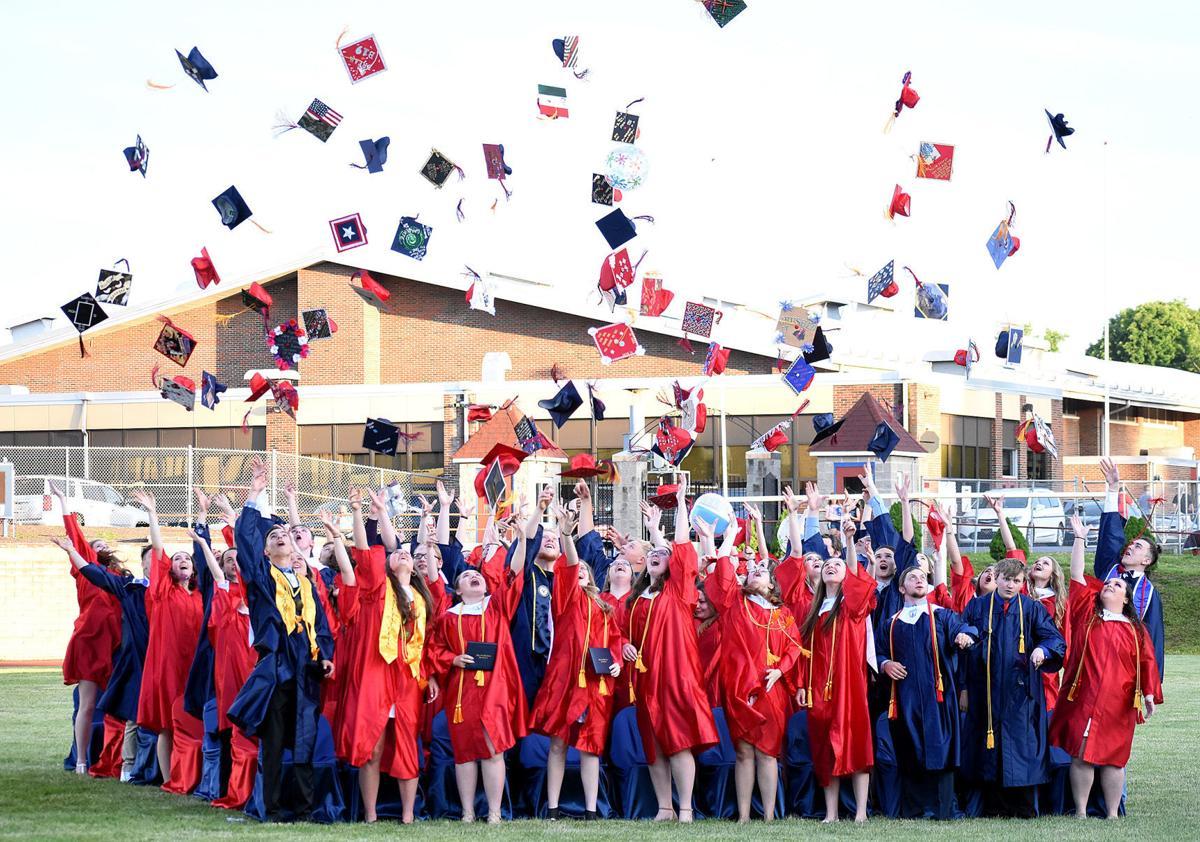 Sayre High graduates 75