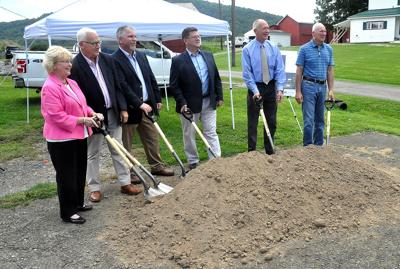 Valley Energy breaks ground