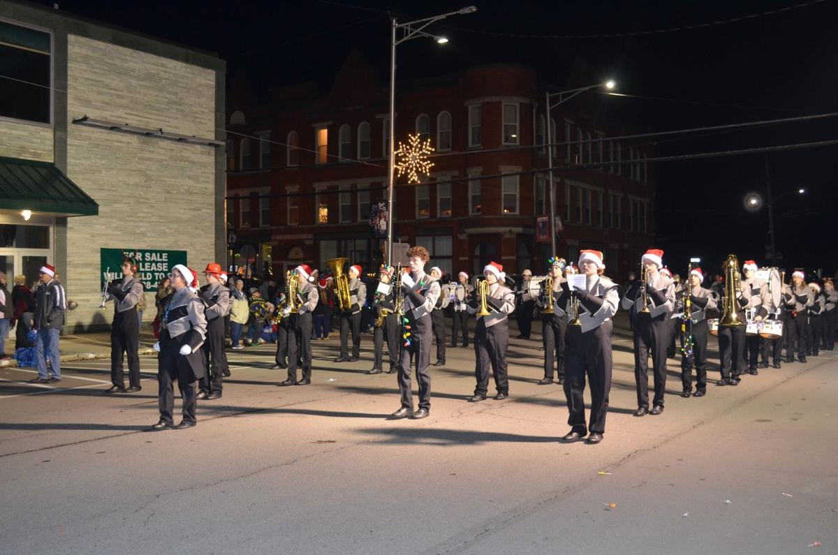 Christmas parade takes over Sayre