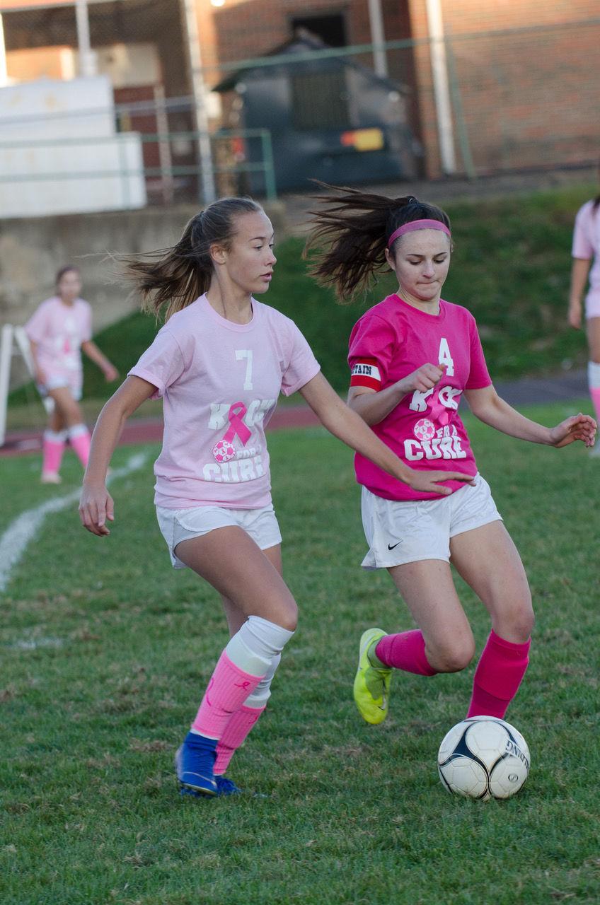 Waverly ladies top Sayre in Pink Game