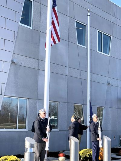 Veterans honored at new county public safety building