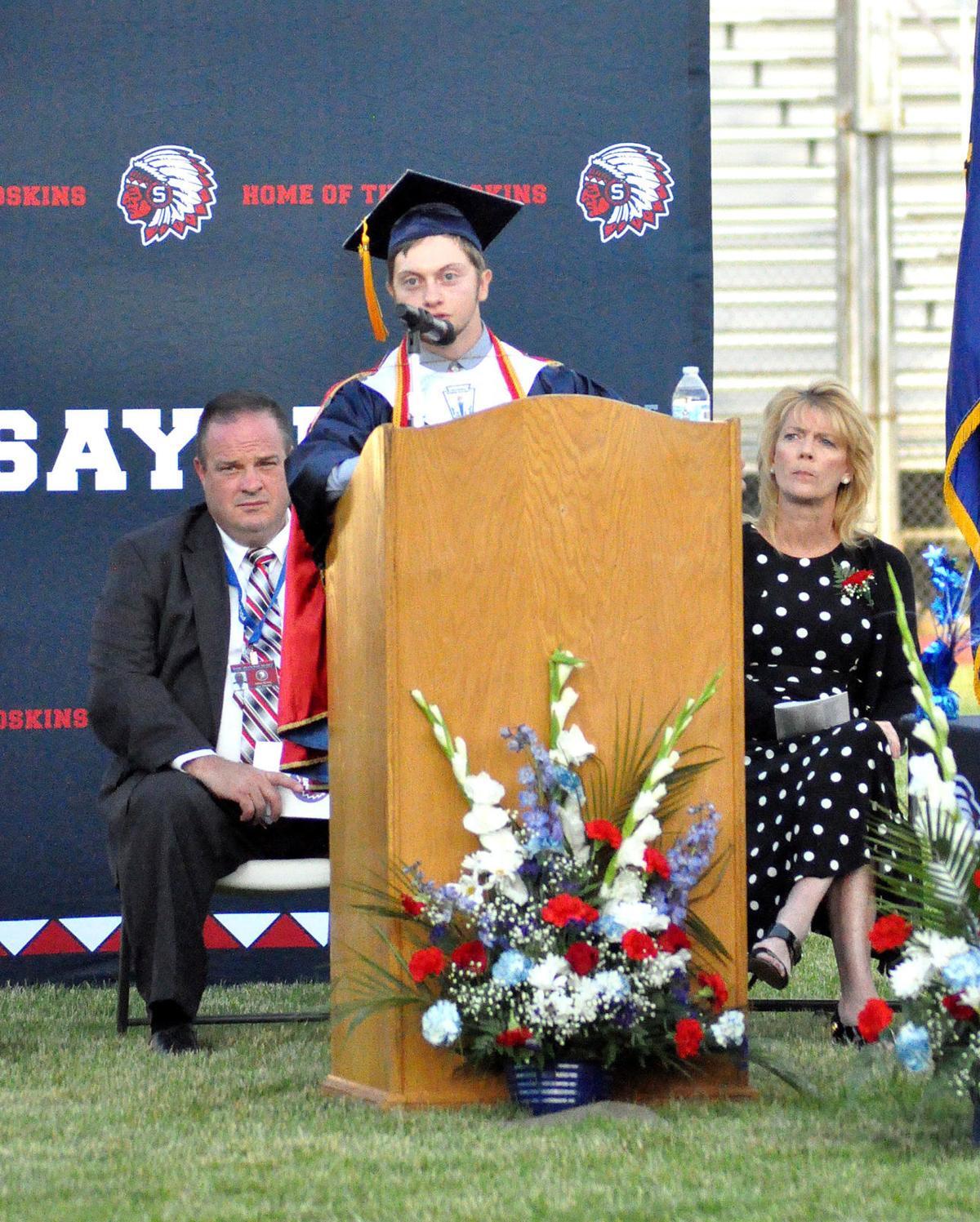 Sayre High graduation