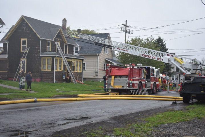Structure Fire in Sayre Borough